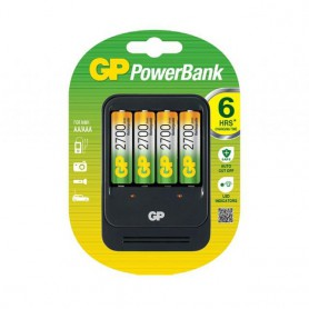 GP - 2h GP PB550 Speed Battery Charger + 4x AA 2700mAh ReCyko + 2700 Series - Battery chargers - BS271