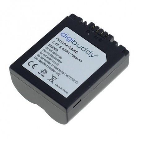OTB - Battery for Panasonic CGR-S006 750mAh - Panasonic photo-video batteries - ON1867