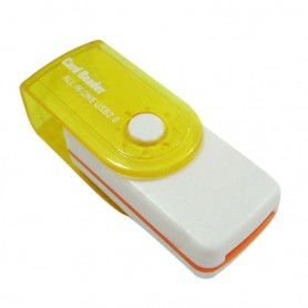 NedRo, Card Reader Adapter 4 in 1 USB2.0 M2 SD SDHC SD TF, SD and USB Memory, AL285-CB