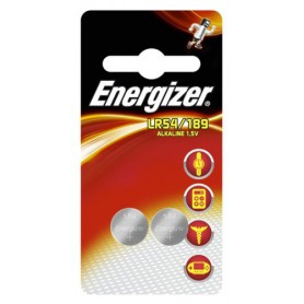 Energizer - Energizer G10 / LR54 / 189 / AG10 1.5V Alkaline button cell battery - Button cells - BL295-CB