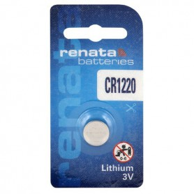 Renata - Renata CR1220 3V 40mAh lithium button cell battery - Button cells - NK398-CB