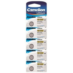 Camelion CR1220 3V 40mAh lithium button cell battery