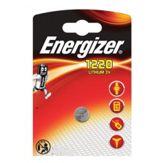 Energizer CR1220 3V 40mAh lithium button cell battery