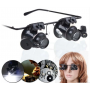Oem - 20x-Zoom Magnifier Glasses With LED Light - Magnifiers microscopes - AL1042