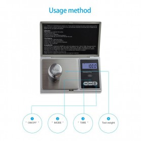 NedRo - 100g / 0,1g Digital Waagen Schmuck Balance g / oz / ozt / dwt / ct / tl - Digital scales - AL1046 www.NedRo.us