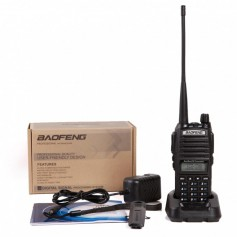 NedRo, Walkie Talkie UHF+VHF 136-174MHZ+400-520MHZ 5W 128CH Two Way Radio BaoFeng UV-82, Phone accessories, AL1054