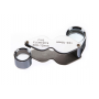Oem - 10x-18mm and 20x-12mm Silver Mini Jewelry Loupe Magnifier Glass - Magnifiers microscopes - AL1057