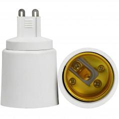 Oem - G9 to E27 Socket Converter - Light Fittings - LCA02-CB