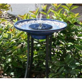 NedRo - Solar Powered Bird Bath Kit Water Fountain Pump For Pool, Garden, Aquarium Pump - Solar panels and wind turbines - AL...