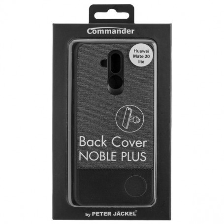 Peter Jäckel - Commander back cover noble plus for Huawei Mate 20 Lite - Huawei phone cases - ON6130 www.NedRo.us
