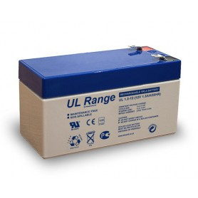Ultracell - Ultracell VRLA / Lead Battery UL 12v 1300mAh UL1.3-12 - Battery Lead-acid  - BS286 www.NedRo.us