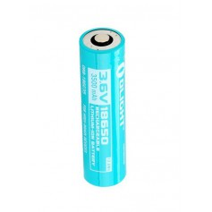 OLIGHT, Olight 3500mAh 3.6V 18650 Rechargeable Li-ion Battery for S30R II / S30R III / S2R Baton, Size 18650, NK376-CB
