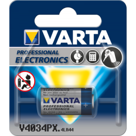 Varta - Varta Battery Professional Electronics V4034PX 4LR44 ON1627 - Button cells - BS287-CB