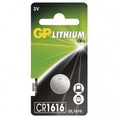 GP CR1616 lithium button cell battery