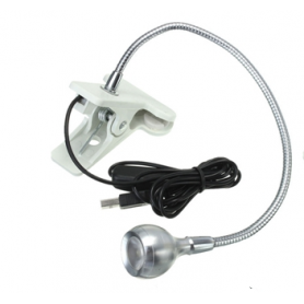 NedRo - USB LED Desk Light with Clip Fixture - LED gadgets - AL1062-CB www.NedRo.us