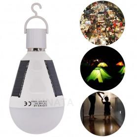 Oem - Waterproof 12W E27 Portable Solar Rechargeable Led Bulb - E27 LED - AL1061