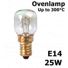 Calex - Ovenlamp 240V 25W E14 300°C 25x55mm CA059 - E14 - CA059-CB www.NedRo.us