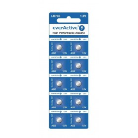 EverActive - everActive AG3 G3 LR736 Alkaline button cell battery - Button cells - BL163-CB