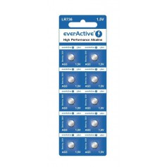 everActive AG3 G3 LR736 Alkaline button cell battery