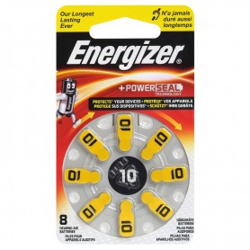 Energizer - Energizer 10 / PR70 1,4V Hearing Aid Battery - Mercury Free - Hearing batteries - BL304-CB