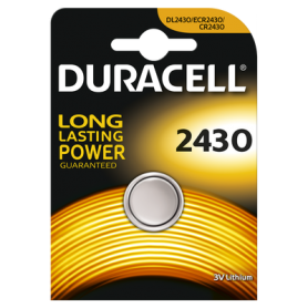 Duracell - Duracell CR2430 lithium button cell battery - Button cells - BS296-CB