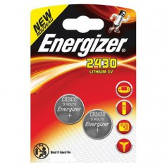 Energizer CR2430 lithium button cell battery - Duo Pack
