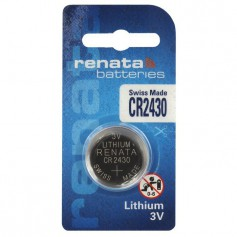 Renata CR2430 lithium button cell battery
