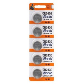 Vinnic - Vinnic CR2430 lithium button cell battery - Button cells - BL308-CB