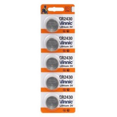 Vinnic CR2430 lithium button cell battery