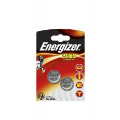 Energizer CR2450 3V lithium button cell battery - Duo Pack