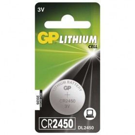 GP - GP CR2450, DL2450, ECR2450 3V Lithium button cell battery - Button cells - BS304-CB