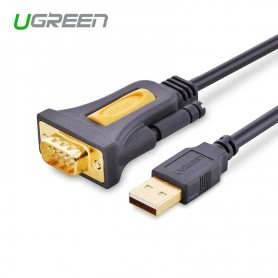 UGREEN, USB 2.0 to DB9 RS-232 Adapter Cable, RS 232 RS232 adapters, UG069-CB, EtronixCenter.com