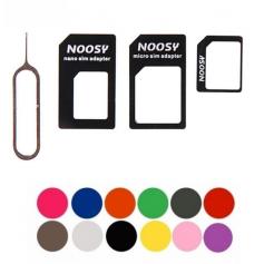 4 in 1 SIM Micro-SIM Nano-SIM adapter + Pin Key AL226