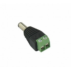NedRo, DC Out Male Socket to Wire Connector - 2 pieces, LED connectors, DCC23-CB, EtronixCenter.com