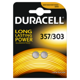 Duracell - Battery Duracell 357-303 /G13 / SR44W 1.5V - Button cells - BS307-CB