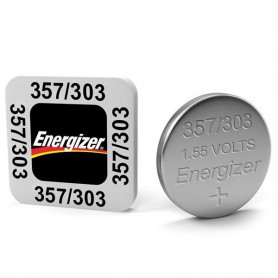 Energizer - Battery Energizer 357-303 /G13 / SR44W 1.5V - Button cells - BS309-CB