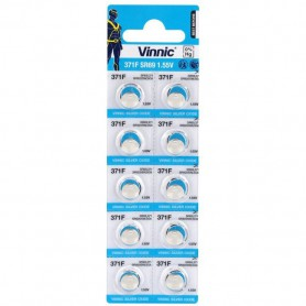 Vinnic - Vinnic 371 / 370 / SR 920 SW / G6 1.55V Watch Battery - Button cells - BL311-CB