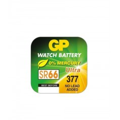 GP 377 / 376 / SR 626 SW / G4 1.55V Alkaline button cell battery