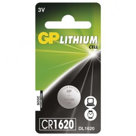 GP, GP CR1620 lithium button cell battery, Button cells, BS314-CB