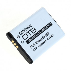OTB, Battery for Nintendo 3DS / 2DS / Wii U Pro Controller 1200mAh 3.7V, Nintendo Wii U, ON6215, EtronixCenter.com
