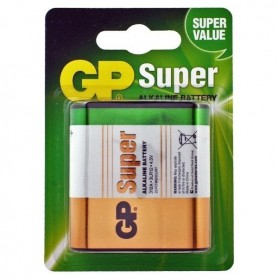 GP, GP Super Alkaline 3LR12/4.5V Battery, Size C D 4.5V XL, BS104-CB
