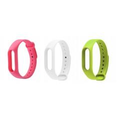 Set of 3 TPU bracelet for Xiaomi Mi Band 2