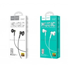Wired earphones 3.5mm M47 Canorous with microfon