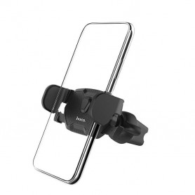 HOCO, HOCO CA39 Triumph Car holder in-car air outlet semi-automatic bracket, Car fan phone holder, H100192