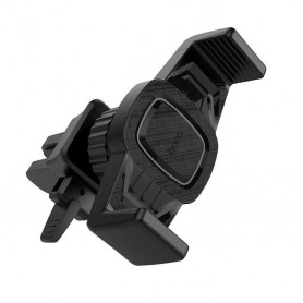 HOCO, HOCO CA38 Triumph Car holder in-car air outlet semi-automatic bracket, Car fan phone holder, H100191