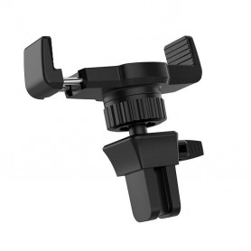 HOCO, HOCO CA38 Triumph Car holder in-car air outlet semi-automatic bracket, Car fan phone holder, H100191, EtronixCenter.com