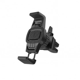 HOCO, HOCO CA38 Triumph Car holder in-car air outlet semi-automatic bracket, Car fan phone holder, H100191