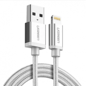 UGREEN - Ugreen US199 MFi Nylon Lightning Charging Data Cable - iPhone data cables  - UG416-CB www.NedRo.us