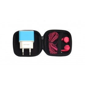 HOCO, Vention Storage Bag, Headsets and accessories, V095, EtronixCenter.com