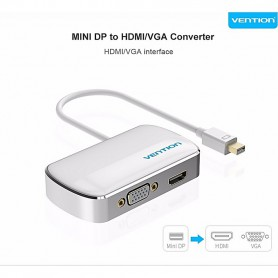 Vention, Mini DP Displayport to HDMI / VGA Converter Adapter, HDMI adapters, V103-NEW